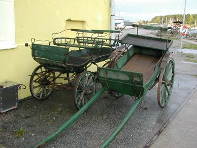 Gamla hästvagnar